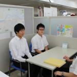 日大工学部学生(県出身者)が地元企業視察