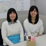 「秋田Cheers」のお二人が来てくれました!