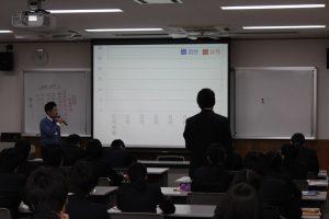 12/1 矢島高等学校「地域学」の授業で講話しました!