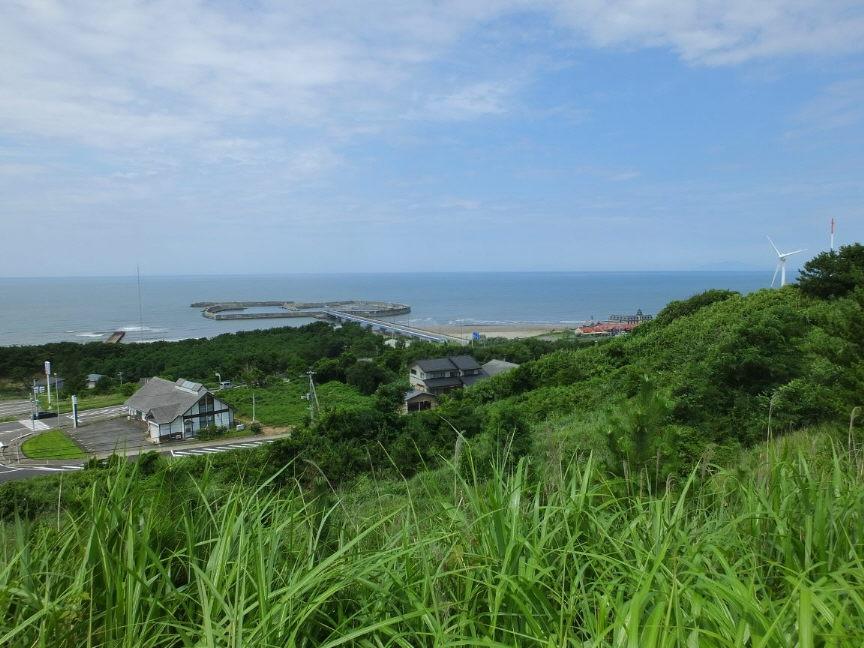 新鶴潟遠景②