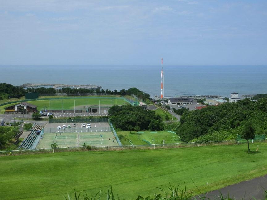 新鶴潟遠景①